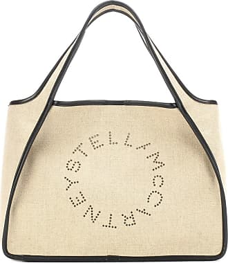 Stella McCartney Stella Logo linen tote