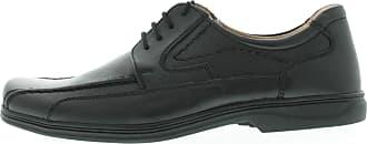 Rohde 853490 Mens Lace-Up Shoes Width H Black Black Size: 11 UK