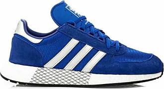 adidas sneaker vl hoops low blau