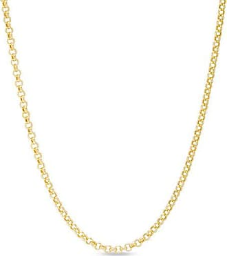 Zales Mens 2.3mm Rolo Chain Necklace in 14K Gold - 30