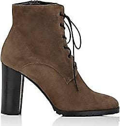 a2e75d77b92d Barneys New York Womens Lug-Sole Suede Ankle Boots - Gray Size 10.5