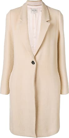 Forte_Forte single breasted coat - Neutrals