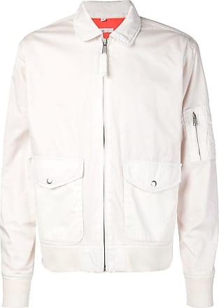 321 zipped flight jacket - White