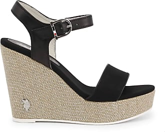 U.S.Polo Association U.S. Polo Assn Wedge AYLIN4204S0_CY1 Women - Black - EU 37