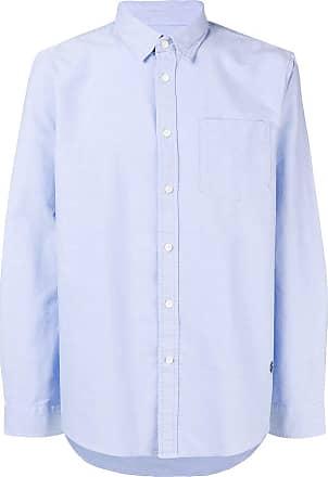 Kent & Curwen classic plain shirt - Azul