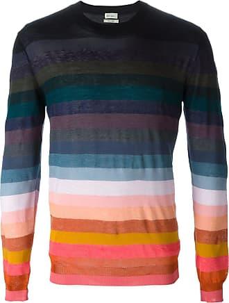 Paul Smith Suéter listrado de seda - Estampado