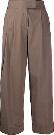 PESERICO Calça pantalona - Marrom