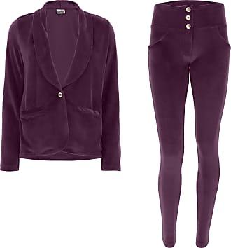 FREDDY Pantaloni Slim-Fit in Jersey di Cotone con Spacco sul Fondo