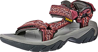 Teva Womens Terra Fi 5 Universal Ws Ankle Strap Sandals, Red (Manzanita Mango 755), 8 10 UK