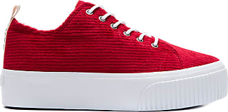 Fiever Tênis Carmel Veludo Fiever - Vermelho