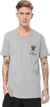 Ed Hardy Camiseta Ed Hardy Black Rose Bleeding Cinza
