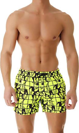 1a64e600aeaa Dirk Bikkembergs Swim Shorts Trunks for Men On Sale, fluo yellow,  polyester, 2017
