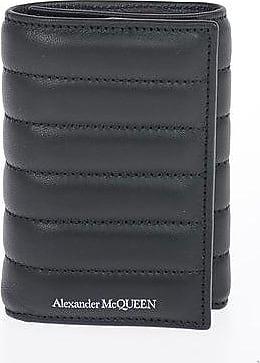 Alexander McQueen Leather Wallet Größe Unica