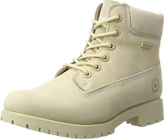 Dockers by Gerli Womens 40cu201 Combat Boots, Ivory (Ivory), 7 UK (40 EU)