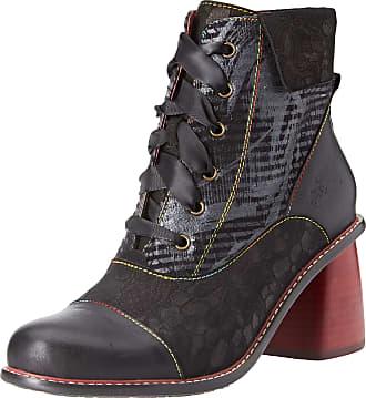 Laura Vita Womens Evcao 11 Ankle Boots, (Noir Noir), 7 UK