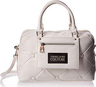 Versace JEANS COUTURE Handbag with Quilted Effect White