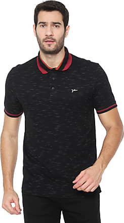 Yachtsman Camisa Polo Yachtsman Reta Logo Preta