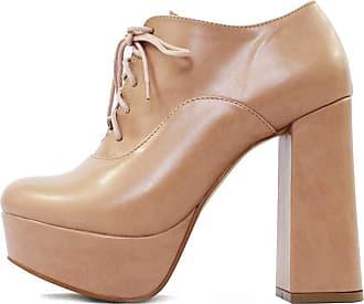 Damannu Shoes Bota Lizy Napa Nude - Cor: Nude - Tamanho: 36