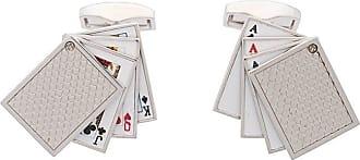 Tateossian Gemelli carte da gioco - Effetto metallizzato
