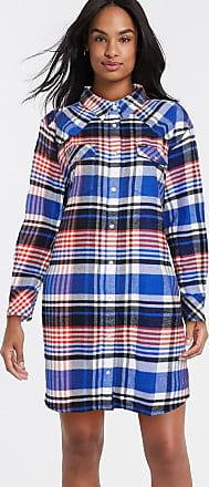 Wrangler Vestito camicia a quadri-Multicolore