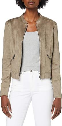 Vero Moda Womens Vmsummersiv Faux Suede Short Jacket Noos Leather, Bungee Cord, X-Small