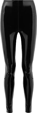 Commando Stretch-pvc Leggings - Black