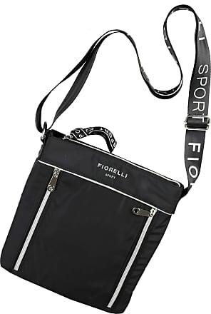 Fiorelli FSH0545 Swift Black Crossbody Sport Shoulder Bag Size Approx. 24 x 26 x 3 cm (W x H x D)