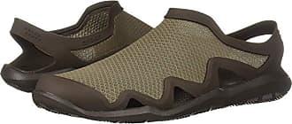 Crocs Swiftwater Mesh Wave (Walnut/Espresso) Mens Sandals