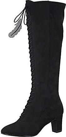Tamaris® Damen Lederstiefel in Schwarz   Stylight