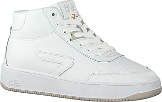 HUB Weiße HUB Sneaker High Baseline-w Mid