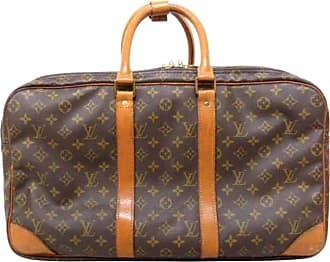 f39901cb1eae Louis Vuitton Poche Sac Trois 223277 Brown Coated Canvas Weekend travel Bag
