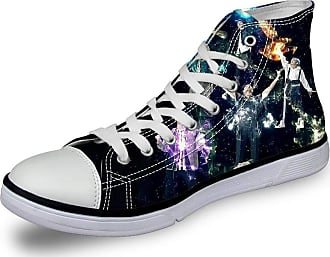 Haililais EXO Shoes Lacing Leisure Shoes Trainers Shoes Canvas Shoes High-top Shoes Printing Comfortable Flat Shoes EXO Sneakers (Color : A01, Size : EU35 US4.5