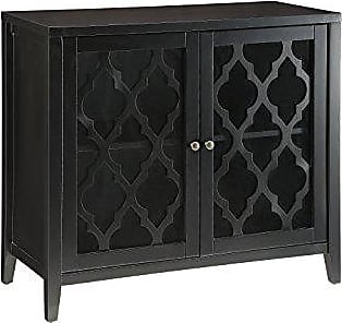 ACME 97382 Ceara Cabinet, Black, One Size