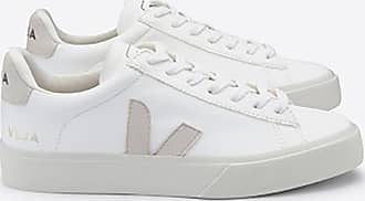 Veja Campo White Chromefree Leather Trainers Schuhe - 36