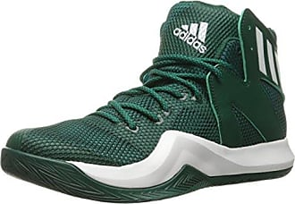 brand new bec21 f5f77 adidas Mens Crazy Bounce Basketball Shoes, Collegiate White Green, ((9.5 M