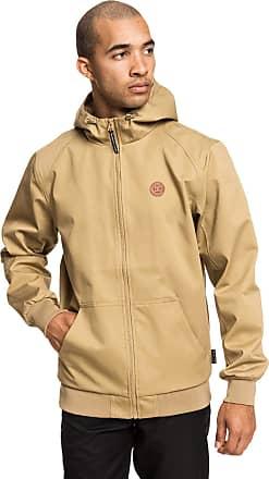 DC Shoes Ellis - Water-Resistant Hooded Jacket for Men - Men Khaki
