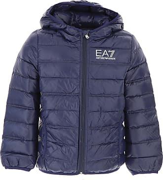 Emporio Armani Doudoune pour Garçon, Veste de Ski Enfant Pas cher en  Soldes, Bleu efd8c435d5ad