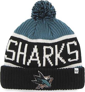 47 Brand San Jose Sharks Wraparound NHL Knit Hat w/ Pom