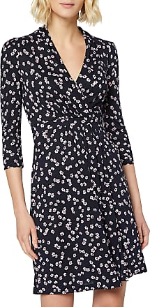 French Connection Womens ELOISE MEADOW Business Casual Dress, Utility Blue Multi, 14