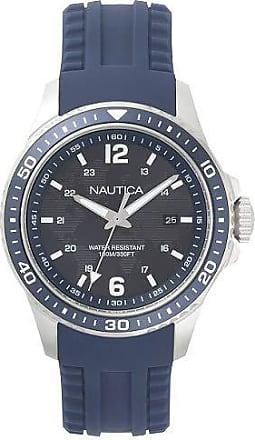 Nautica Relógio Nautica Masculino Borracha Azul - NAPFRB002