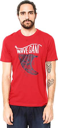Wave Giant Camiseta WG Quiver Vermelha