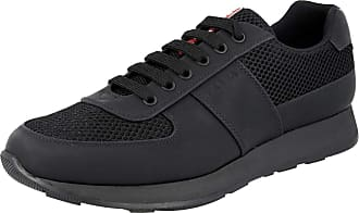 Prada Mens 4E3341 Black Leather Trainers/Sneaker UK 7.5 / EU 41.5