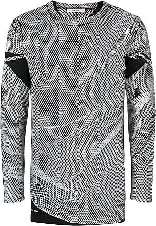 Damir Doma Suéter de tricô com mesh - Preto