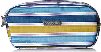 Baggallini SCS885 Square Cosmetic, Tropical Stripe, One Size