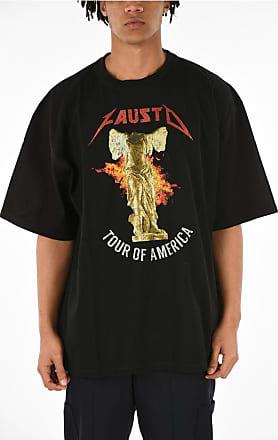 FAUSTO PUGLISI T-shirt TOUR OF AMERICA Girocollo taglia S