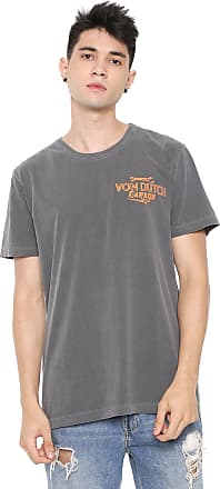 Von Dutch Camiseta Von Dutch Genuine Parts Grafite