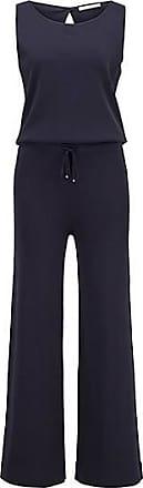 BOSS Wide-leg sleeveless jumpsuit with tie waist