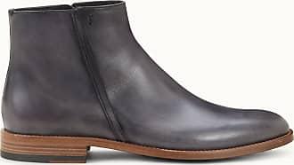 Tod's Stiefelette aus Leder, GRAU, 5 - Shoes
