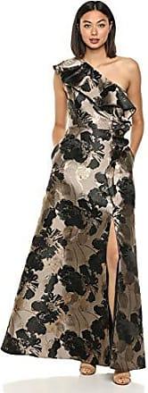 Adrianna Papell Womens Ruffle Jersey Dress