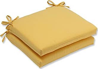 Pillow Perfect Outdoor/Indoor Forsyth Soleil Squared Corners Seat Cushion (Set of 2)